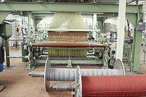 Weaving at Robert Noble