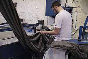 Finishing at Schofield Textile Dyers and Finishers