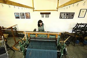 Woven in the bone - bespoke weaver