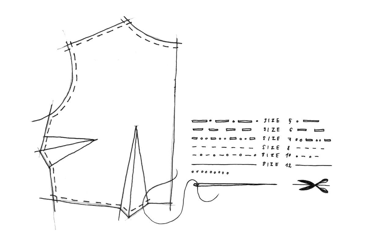 Fashion Construction Illustration