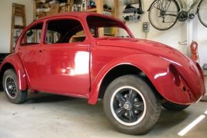 Powdercoated VW Beetle