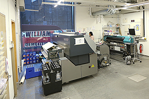 Digital Fabric Printers at Centre for advanced textiles