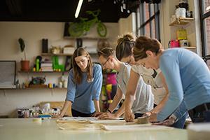 Screen Printing classes run by Jamie Tetsill at Squareclub