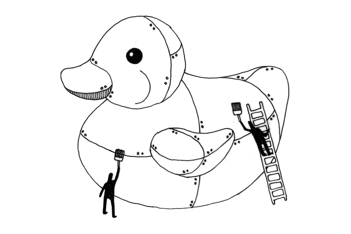 Artist Fabrication Illustration