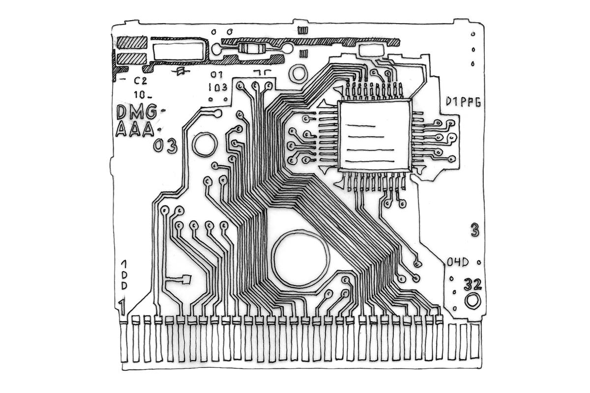 Electronics Illustration