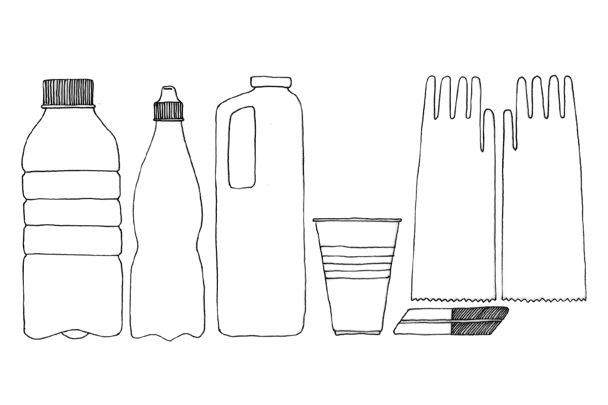 Plastic Illustration